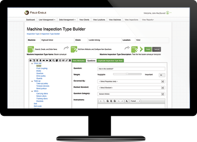 Inspection Software - Field Eagle Server