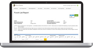Inspection Software Features - Field Eagle