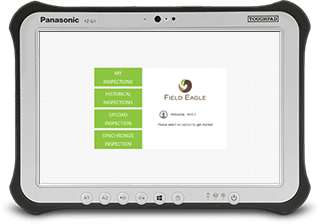 Field Eagle runs on any Windows 8.1 (plus), iOS, or Android Tablet